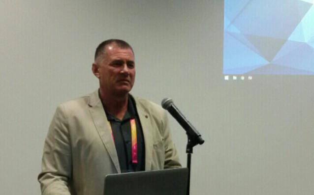 Добромир Карамаринов води презентацията в Лондон<strong> източник: БФЛА</strong>