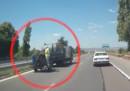 Видеозапис на фрапиращи нарушения при смърт на пътя