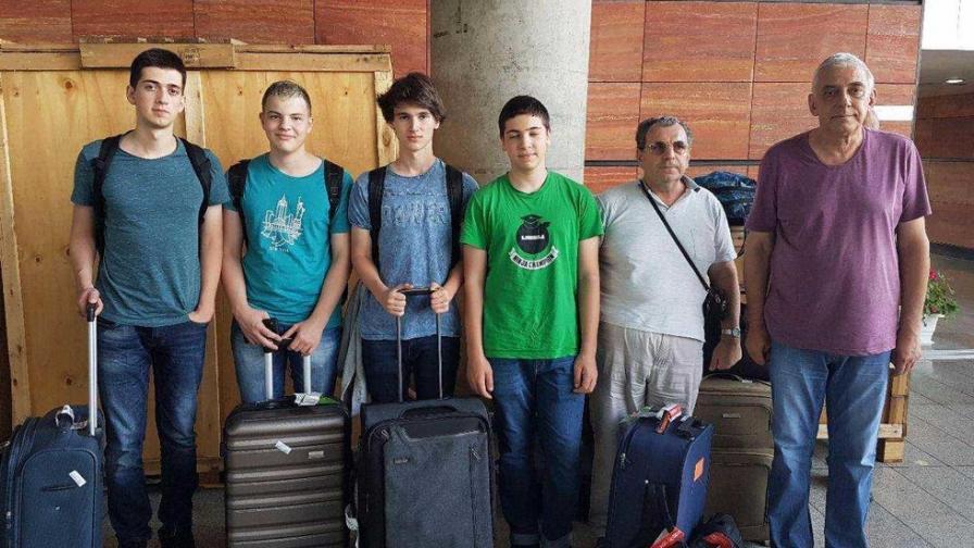 Българският олимпийски отбор по информатика
