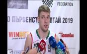 Везенков: Победата дойде по-лесно, отколкото личеше