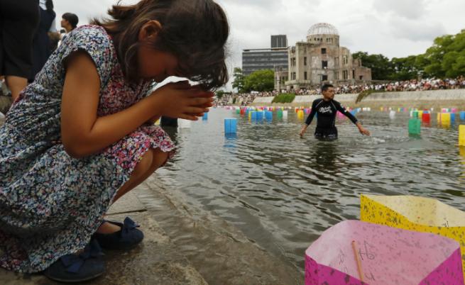 В Япония отбелязаха 72 г. от атомната бомбардировка над Хирошима