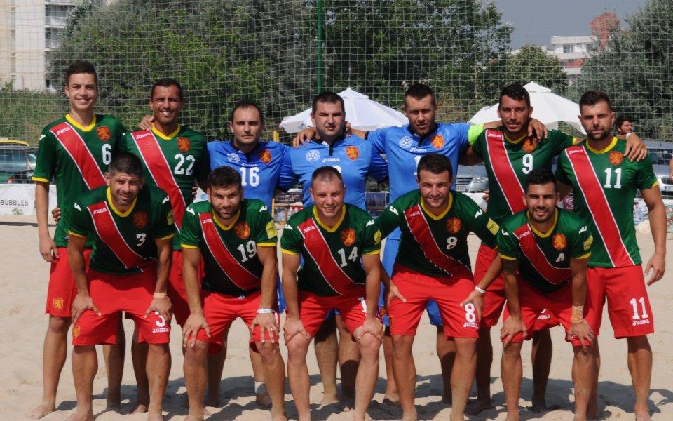 Националите по плажен футбол загубиха и втората контрола от Молдова