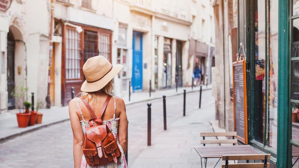 лято жена пътуване екскурзия