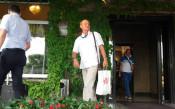 Пристигането на Делио Роси<strong> източник: Стефан Стоянов</strong>