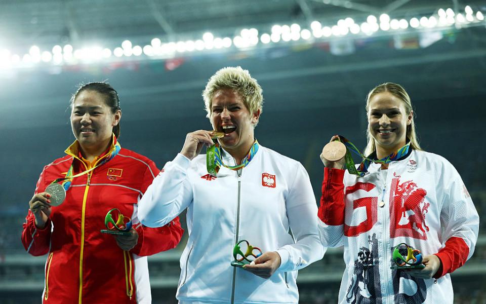 Влодарчук спечели нов златен медал в хвърлянето на чук