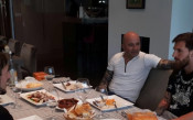 Хорхе Сампаоли се срещна с Лео Меси в Барселона