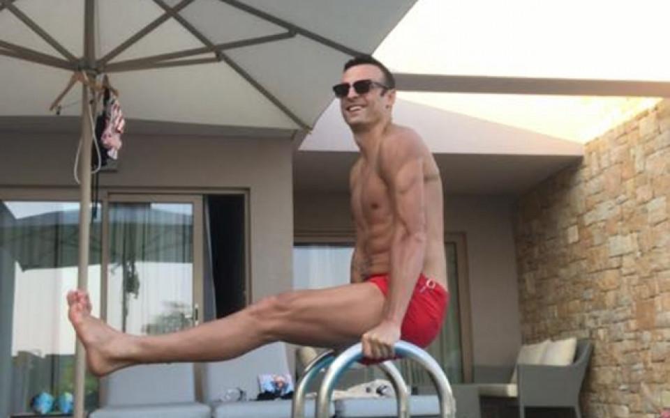Бербатов се готви за Олимпиада, прави се на Данчо Йовчев