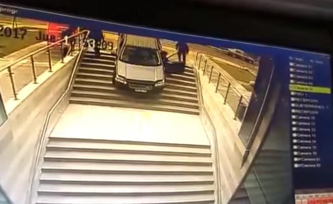 Шофьорка в Чили направи серия от нарушения