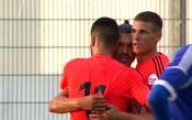 Божинов вкара чуден гол при успех над клуба на Иван Ракитич