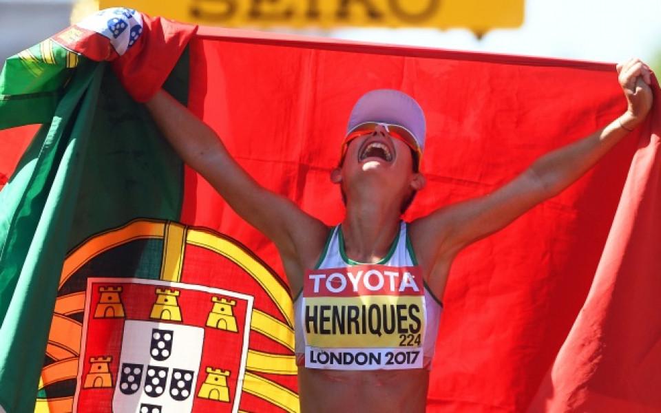 Титла и световен рекорд за португалка в спортното ходене