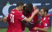 Лукаку откри головата си сметка за Ман Юнайтед във Висшата лига