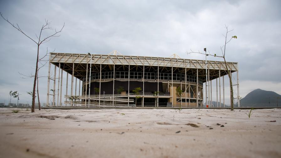 Така изглеждат съоръженията в Рио Да Жанейро  само година след Олимпиадата в града