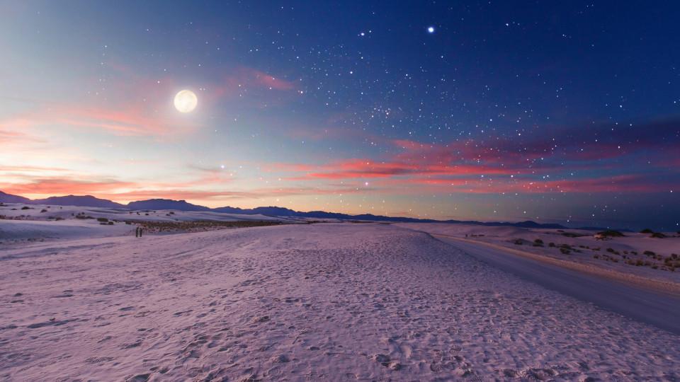 природа небе нощ