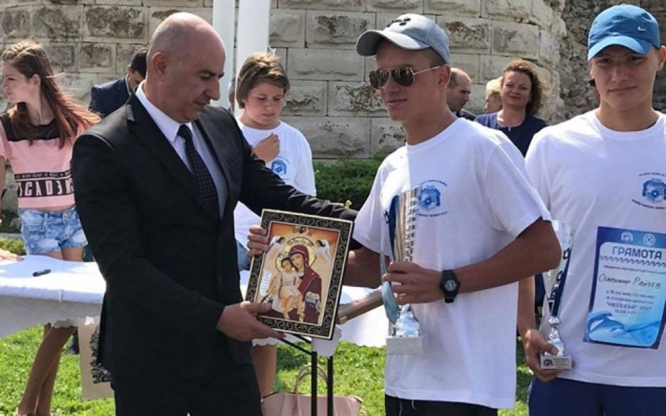 Тодор Тодоров спечели плувния маратон в Несебър