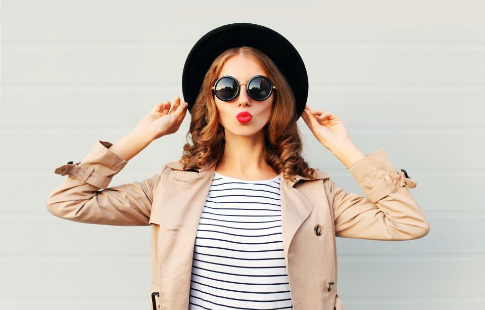 жена стил щастие лято