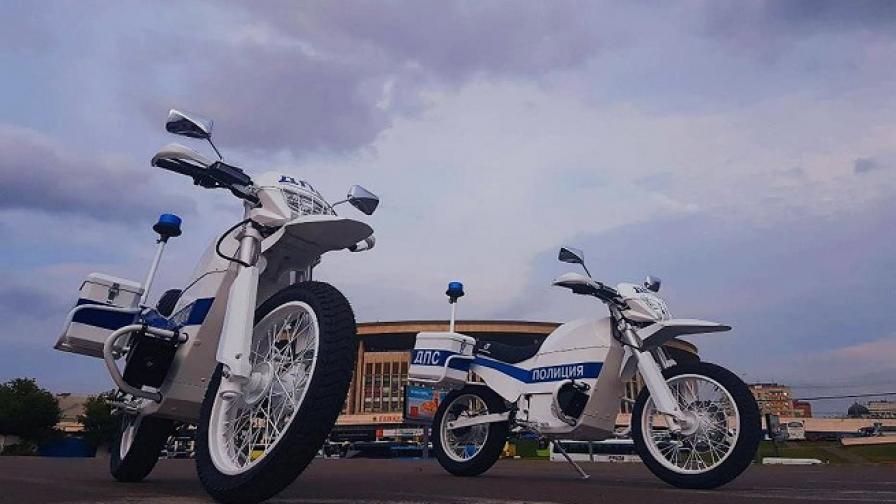 """Електрически полицейски мотори от… """"Калашников"""""""