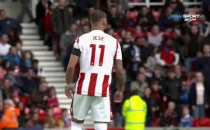 Хесе Родригес дебютира за Стоук срещу Арсенал