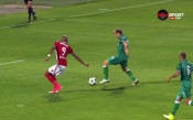 Шест минути по-късно: 2:0 за ЦСКА срещу Бистрица
