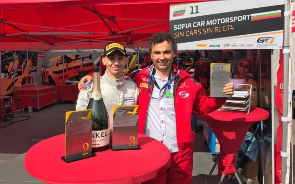 Иван Влъчков отново с подиум в надпревара в GT4, Лефтеров също впечатли