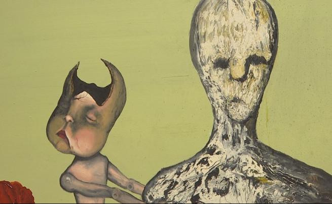 Детайл от творба на Кобейн.