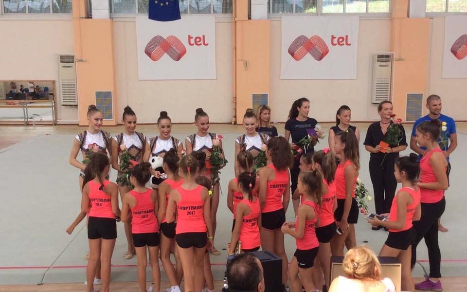 Емоции с художествената гимнастика в Благоевград