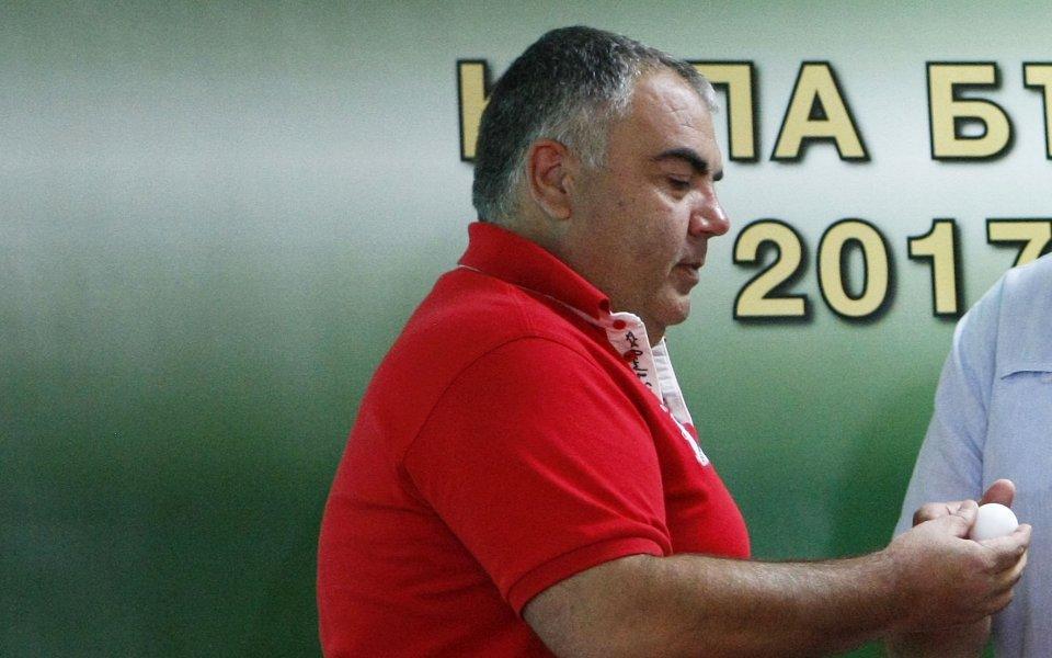 Шеф в Царско село: Има натиск да играем с Левски на Националния стадион