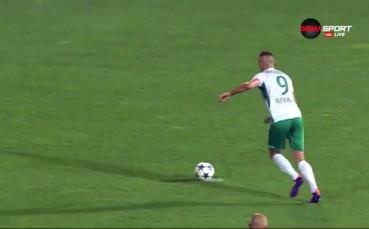 Спасяването на Янко Георгиев за Септември срещу Берое