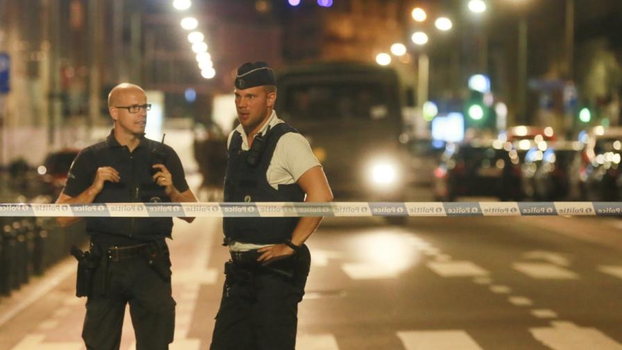 Нов опит за атентат - мъж с нож напада в Брюксел, ИД пое отговорност