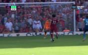 Салах летя от край до край, за да порази Арсенал