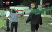 Изгониха Ники Митов след третия гол на Септември