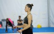 Неви и Катрин тренират в Пезаро<strong> източник: facebook.com/BGRGfederation</strong>