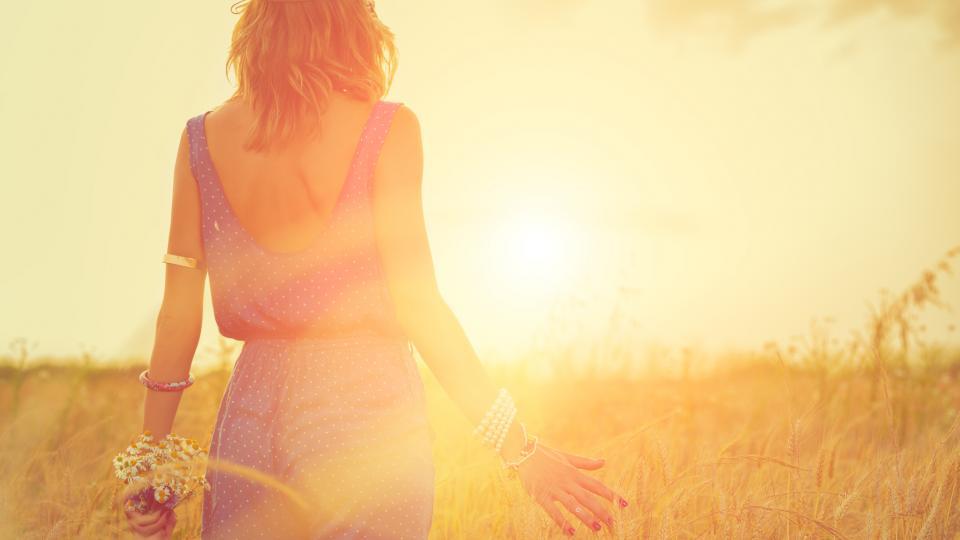жена лято