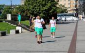 Волейболните национали на разходка из Краков<strong> източник: facebook.com/Bulgarian Volleyball Federation</strong>