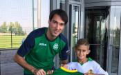 Ивелин Попов стана ментор на малкия Мартин