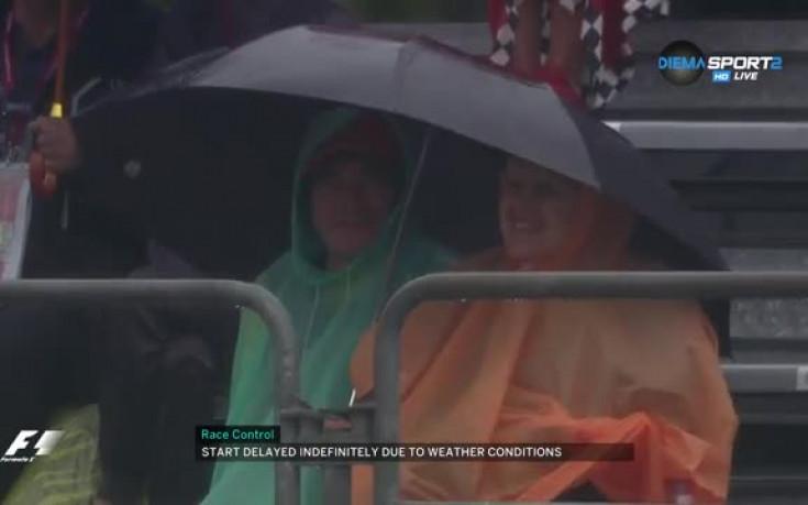 Дъжд и студ над Монца отлагат тренировката