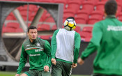 Българите тренират с настроение преди мача с Холандия<strong> източник: LAP.bg</strong>