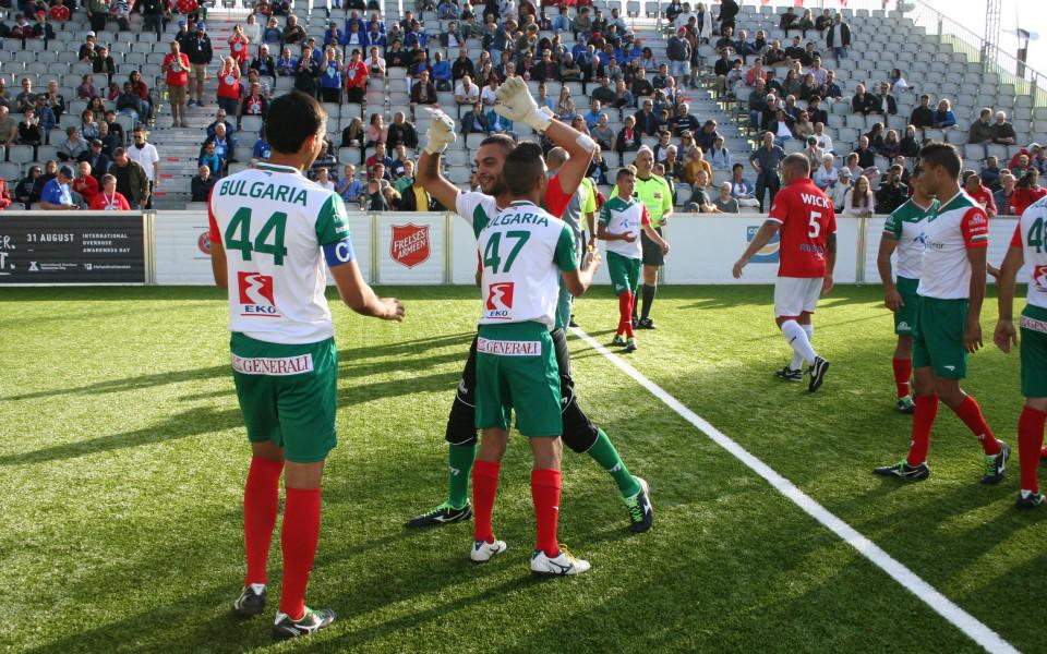 Драматичен успех изпрати България в топ 16 на СП по футбол за бездомници
