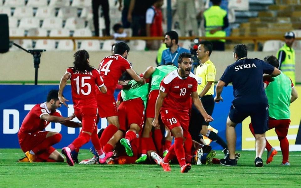 Сирия стигна плейоф за Мондиал 2018
