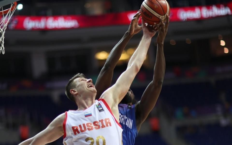 Русия на 1/4-финал на Евробаскет 2017 след рецитал срещу Хърватия