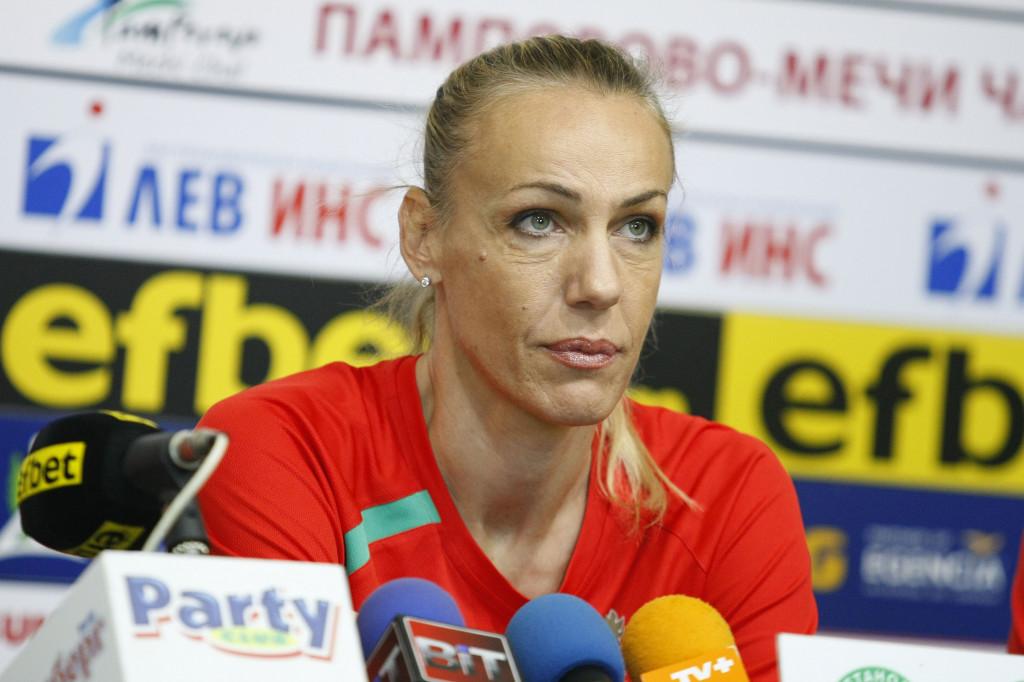 Тони Зетова за амбициите на женския ни тим по волейбол до 23 години<strong> източник: Lap.bg, Илиан Телкеджиев</strong>