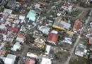 Синт Мартеен - холандската част на карибския остров Сен Мартен, видяна от въздуха