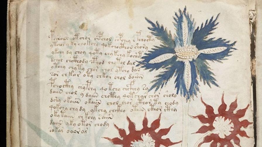 Разкрита ли е тайната на една мистериозна книга на 600 г.