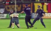 Съставиха акт на фена на Ботев Пловдив,  нахлул на терена