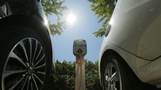 Станция за зареждане на електрически коли в Пекин