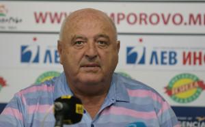 Венци Стефанов издигна Белия и заяви: Ще стана треньор на годината с футболистите на Лудогорец