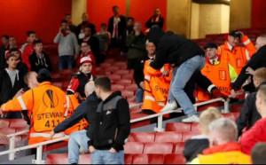 Фенско меле отложи Арсенал - Кьолн с час