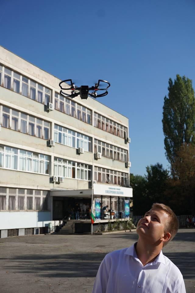 ТУЕС-ари управляваха и дрон, който засне моменти от тържественото откриване на 30-тата юбилейна година.