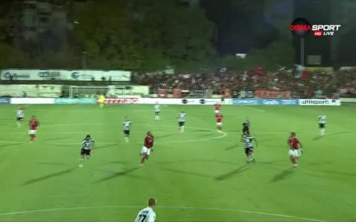 Имаше ли дузпа за ЦСКА в началото на мача във Варна?