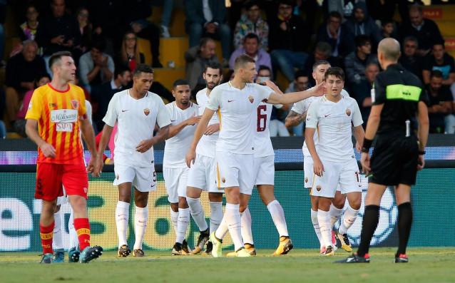Отборът на Рома разгроми като гост Беневенто с 4:0 в