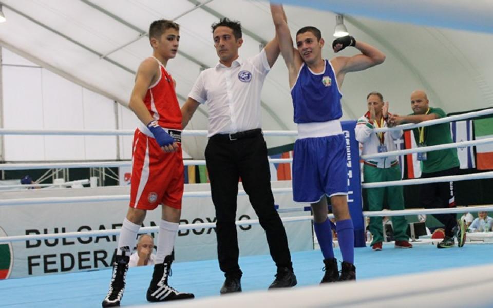 Българските боксьори все още без загуба на Евро 2017